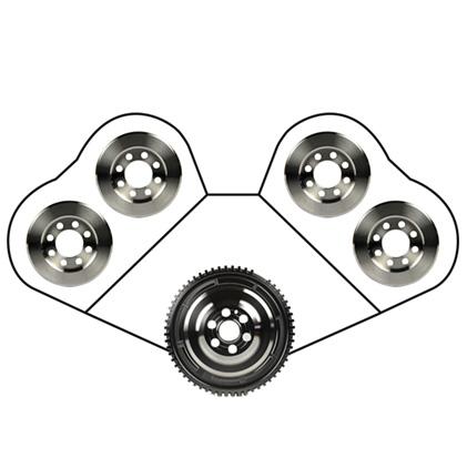 Vibratech TVD - Automotive Crankshaft Damper and Camshaft Dampers