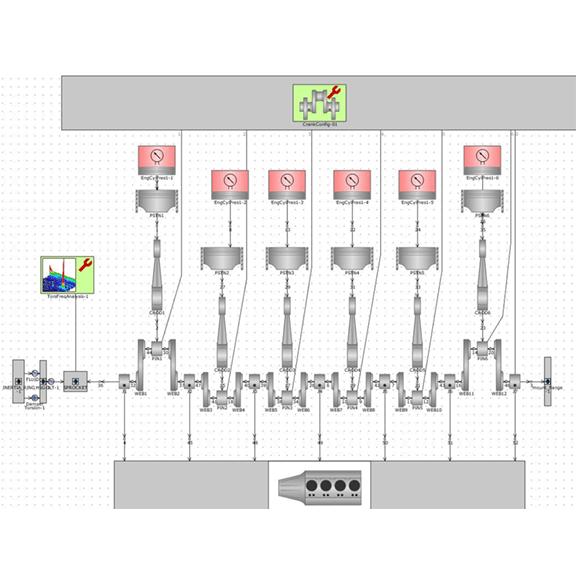 Vibratech TVD - Torsional Damper Design Modeling