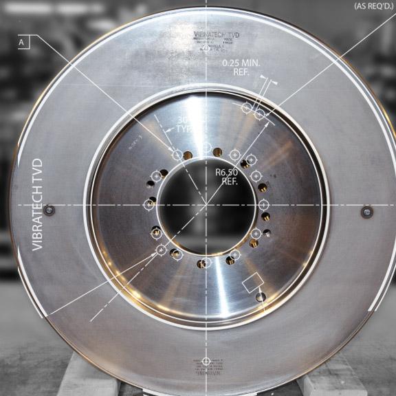 Vibratech TVD - Torsional Damper Development and Manufacturing