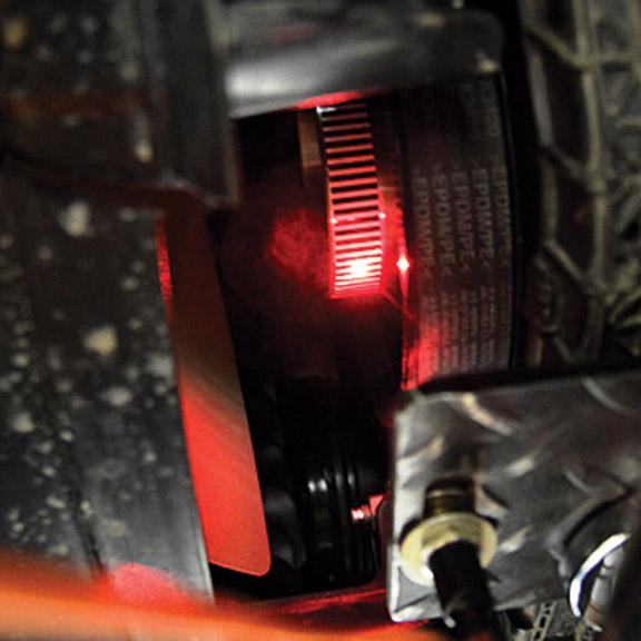 Vibratech TVD - Torsional Damper Testing